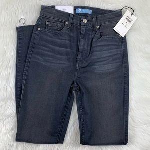 7 For All Mankind 7FAM b(air) Jeans High Waist 24